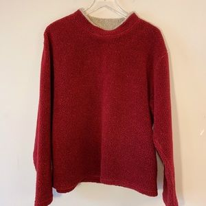 Early Winters | Red Warm Pullover | Medium